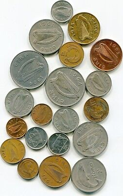 Ireland large lot of Vintage coin (19)   lotsep4646