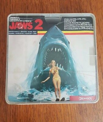 Vintage Jaws Super 8 Classic Film Colour/sound Super 8Mm