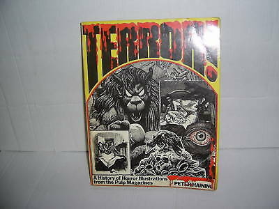 """""""terror!""""history Of Horror In Pulps.p/b ..uk  See Info.top Item.."""