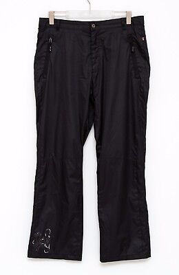 Women Skila Sport Walking Trousers Hiking Mesh Lining Casual Black Xl Xlarge Exc