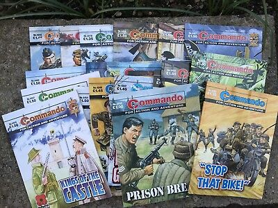 Commando Comics x 21 (2009 to 2012)