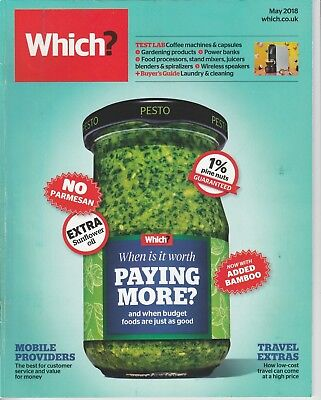 Which? Magazine - May 2018 - Budget Foods