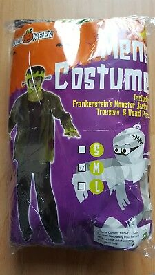 Mens Halloween 'frankenstein' Costume. New Size M