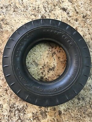 Old  GOOD YEAR BLACK RUBBER TIRE  for ashtray,