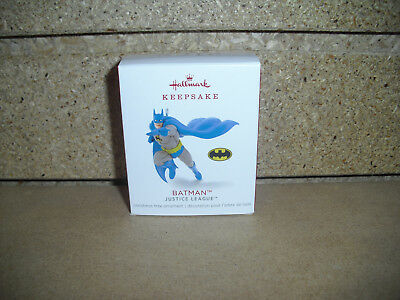 2018 Hallmark Ornament BATMAN Justice League Miniature NIB!!