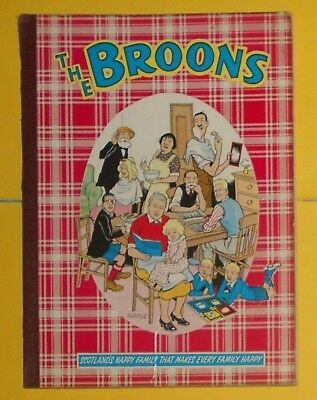 The Broons 1961 , Dudley D Watkins , Vg /excellent Condition