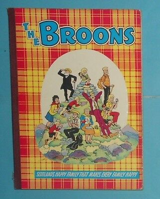 The Broons 1963 , Dudley D Watkins ,  Scarce Year.
