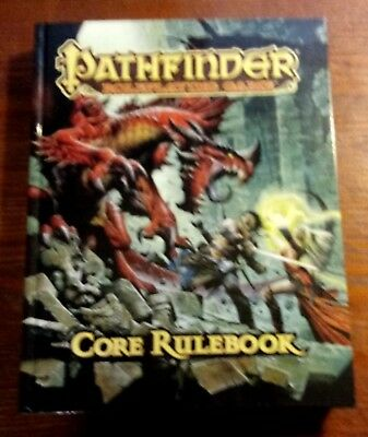 Pathfinder Role Playing Games Core Rulebook (2009, Hardcover) / Free Shipping