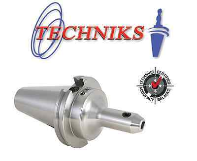 "Techniks CAT40 1//2/"" Diameter x 2.63/"" End Mill Holder"