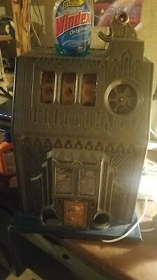 antique coin slot machine10c Pace Comet fancy Front 1936 works  original parts