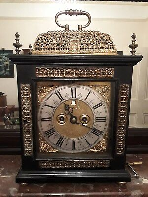Bracket Clock Fleureau of London circa 1690