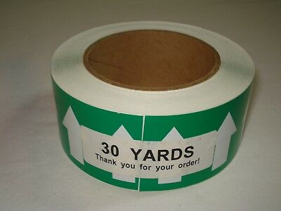 """Pipe Banding & Directional Flow Tape 2"""" X 30-yards Green w/ White Arrows"""