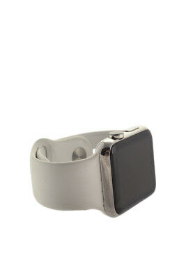 Apple White 1st Generation Silicone Band 42mm Watch