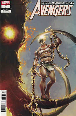 Avengers #7 1:50 Clayton Crain Variant Marvel 2018 1st Ghost Rider 1,000,000 BC