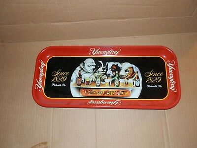 Yuengling Beer Tray with Dogs Drinking Beer