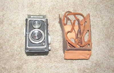 VINTAGE CARL ZEISS IKON IKOFLEX BOX STYLE FILM CAMERA w/ LENS