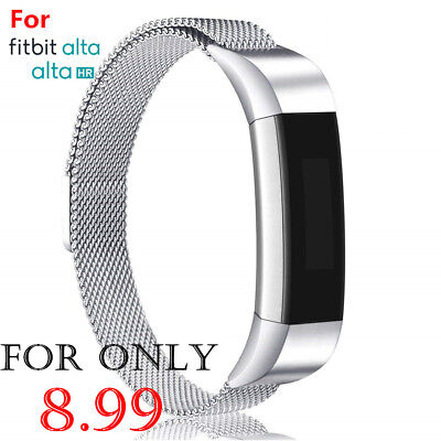 For Fitbit Alta / Alta HR Magnetic Milanese Steel Watch Band Strap Wristband AUS