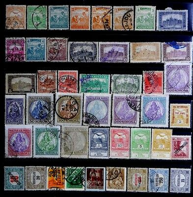 Hungary: Classic Era Stamp Collection With Never Hinged