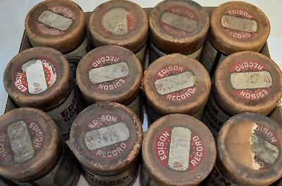 Lot Of 12 Stereo Tubes Copyright 1904 Edison Laboratory Includes *yankee Doodle*