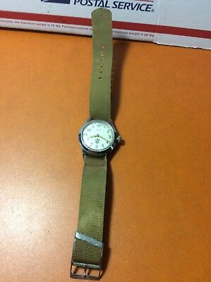 Vintage Boy Scouts (BSA) Watch - Timex Rare Works Great