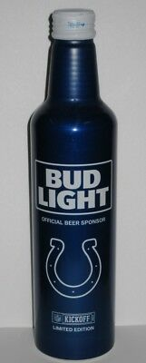 Bud Light Aluminum Beer Bottle #503056 - NFL Indianapolis Colts