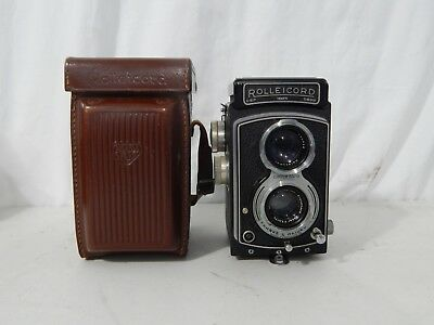 Rolleicord III Model K3B Camera w/ Original Case
