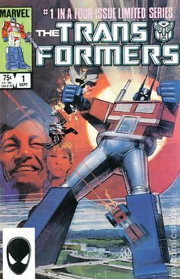 Transformers (Marvel) 2nd Printing #1 1984 VG- 3.5 Stock Image Low Grade