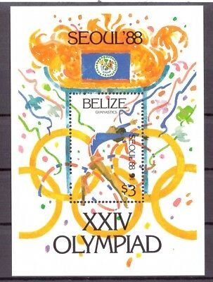 Belize MiNr. Block 96 postfrisch/ MNH Olympiade 1988 Seoul (Oly925