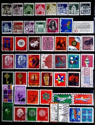 Germany: 1960's Stamp Collection