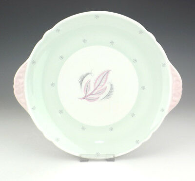 Vintage Shelley Porcelain - Rhythm Pattern Cake Plate - Art Deco!