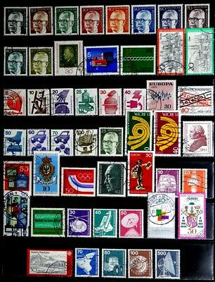 Germany: 1960's To 70's Stamp Collection