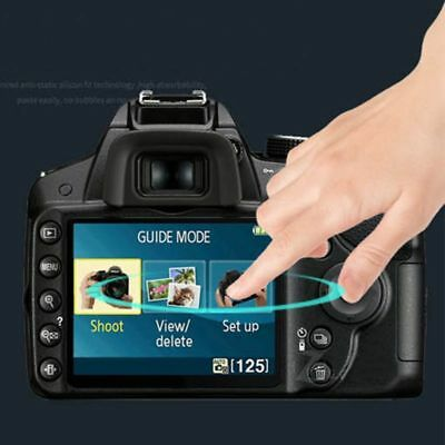 HD LCD Camera Screen Protector Protective Film for Nikon D3400 D3300 D3100 D3200