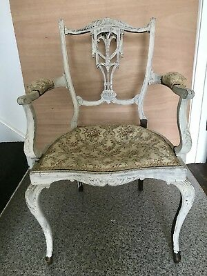 Old Carved Arm Chair.Edwardian?