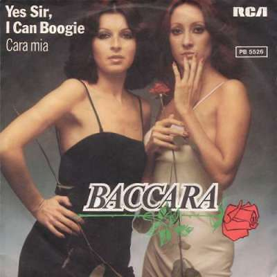 "Baccara - Yes Sir, I Can Boogie (7"", Single) Vinyl Schallplatte - 34705"