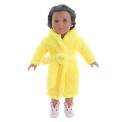2018cute! Winter pajamas suit for 18 inch American Girl doll n439