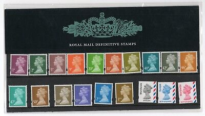 GB 2005 World, Europe, 1st, 2nd, 1p - £1 Definitive Presentation Pack No. 71 VGC