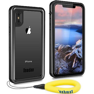 For iPhone Xs Max / iPhone Xs /iPhone X Waterproof IP68 Case Shockproof Cover