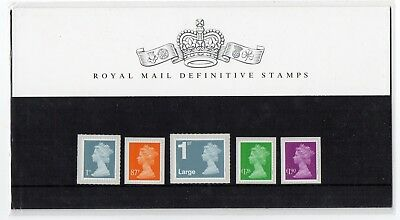 GB 2012 Machin Definitives 1st - £1.90 Presentation Pack No. 94 VGC stamps