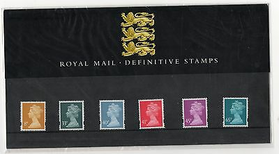 GB 2000 Machin Definitive 8p - 65p Presentation Pack No. 49 VGC stamps