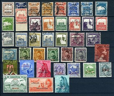Palestine small selection used 1900's