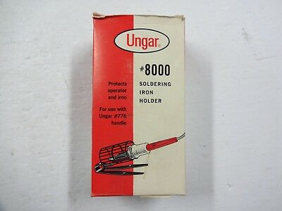Vintage New Old Stock Ungar #8000 Soldering Iron Holder Made In Usa Bench Top