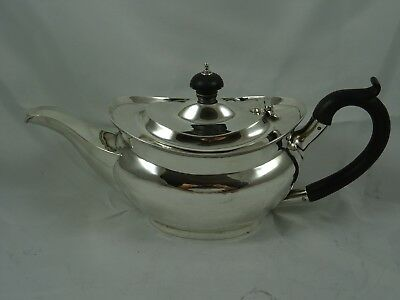 SMART,  solid silver `BACHELORS` TEA POT, 1910, 328gm