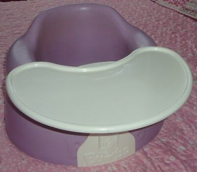 Lilac Bumbo Seat With Removable Play / Snack Tray