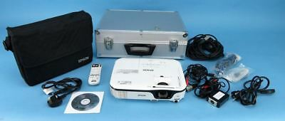 Epson EB-W12 Projector Home Cinema Office Equipment Screen Camera Lamp 45Hrs