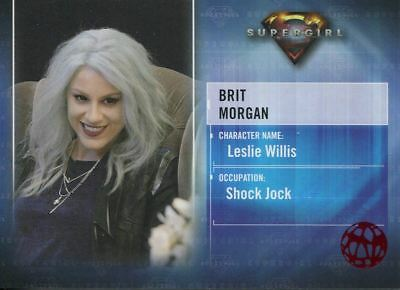 Supergirl Season 1 Red Foil Character Chase Card CB8 Brit Morgan as Leslie