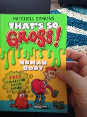 That's So Gross!: Human Body, Symons, Mitchell Paperback Book The Cheap Fast