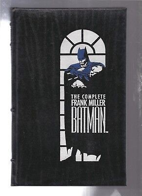 The Complete Frank Miller Batman (Bonded Leather Cover)