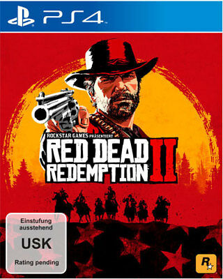 Sony PS4 Playstation 4 Spiel Red Dead Redemption 2 NEU NEW 18 55