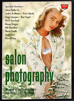 SALON PHOTOGRAPHY:Whitestone Pub.,1965-Bunny Yeager,Russell Gay,Serge Jacques