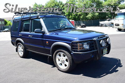 Land Rover Discovery HSE7 2003 Blue Low Miles Exceptional Condition Loaded Safari Rack & Ladder